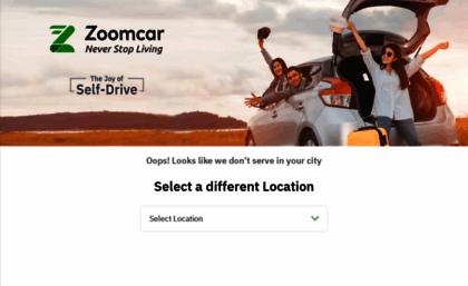 Zoomcar Com Website Self Drive Car Rental In India Car Hire