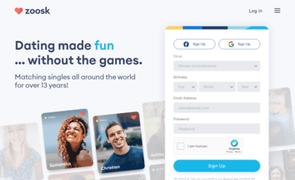 Online dating without sign up