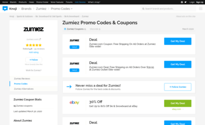 Save with Zumiez coupons and discounts: